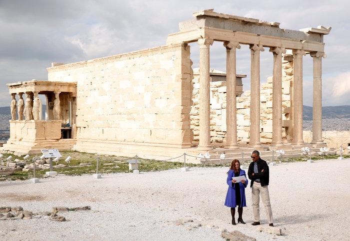 Οι 30 ώρες του Μπαράκ Ομπάμα στην Αθήνα σε 30 φωτογραφίες - εικόνα 18