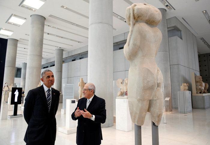Οι 30 ώρες του Μπαράκ Ομπάμα στην Αθήνα σε 30 φωτογραφίες - εικόνα 20