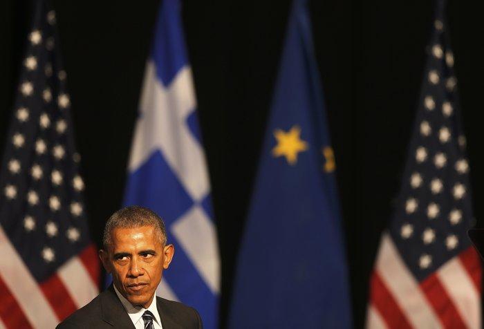 Οι 30 ώρες του Μπαράκ Ομπάμα στην Αθήνα σε 30 φωτογραφίες - εικόνα 25