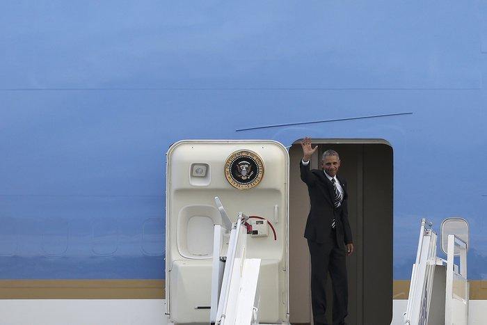 Οι 30 ώρες του Μπαράκ Ομπάμα στην Αθήνα σε 30 φωτογραφίες - εικόνα 29