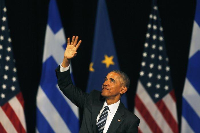 Οι 30 ώρες του Μπαράκ Ομπάμα στην Αθήνα σε 30 φωτογραφίες - εικόνα 24