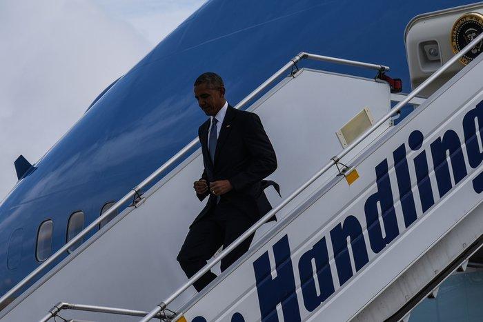 Οι 30 ώρες του Μπαράκ Ομπάμα στην Αθήνα σε 30 φωτογραφίες