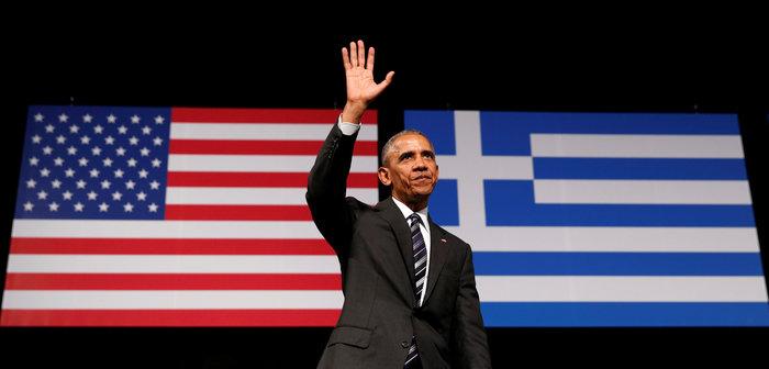 Οι 30 ώρες του Μπαράκ Ομπάμα στην Αθήνα σε 30 φωτογραφίες - εικόνα 26