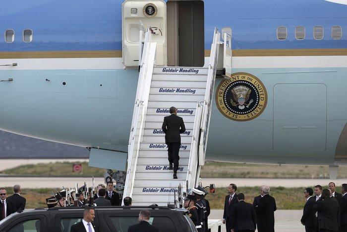 Οι 30 ώρες του Μπαράκ Ομπάμα στην Αθήνα σε 30 φωτογραφίες - εικόνα 27