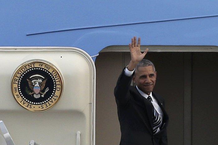 Οι 30 ώρες του Μπαράκ Ομπάμα στην Αθήνα σε 30 φωτογραφίες - εικόνα 30