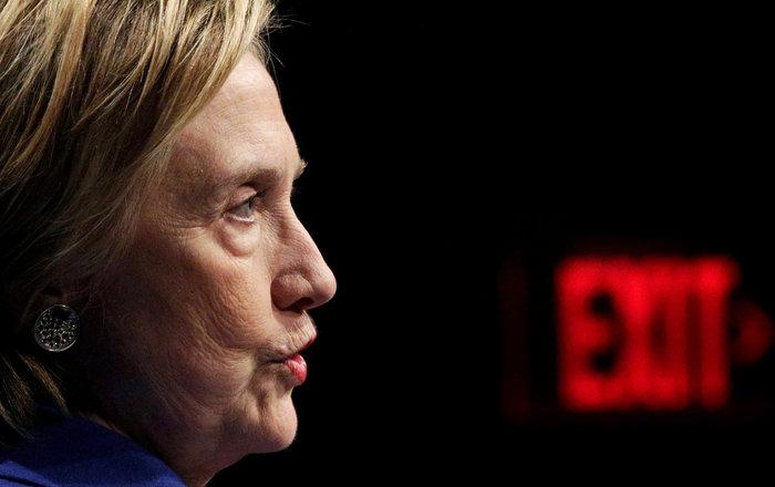 Σοκαριστική εμφάνιση της Χίλαρι Κλίντον μετά την ήττα