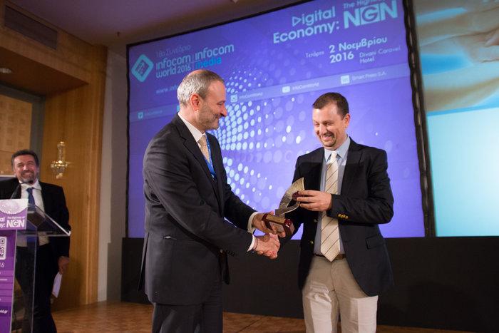 Βραβείο στην Εθνική Τράπεζα για την crowdfunding πλατφόρμα act4Greece