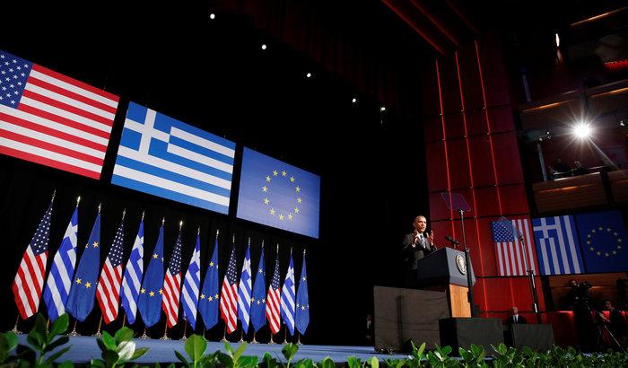 Το μυστήριο της ομιλίας Ομπάμα στο Ιδρυμα Νιάρχος: Υπήρχε ή όχι autocue - εικόνα 6