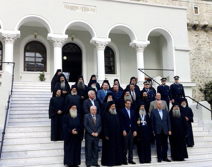 Η επίσκεψη Μητσοτάκη στο Αγιον Ορος-Δείτε εικόνες - εικόνα 2