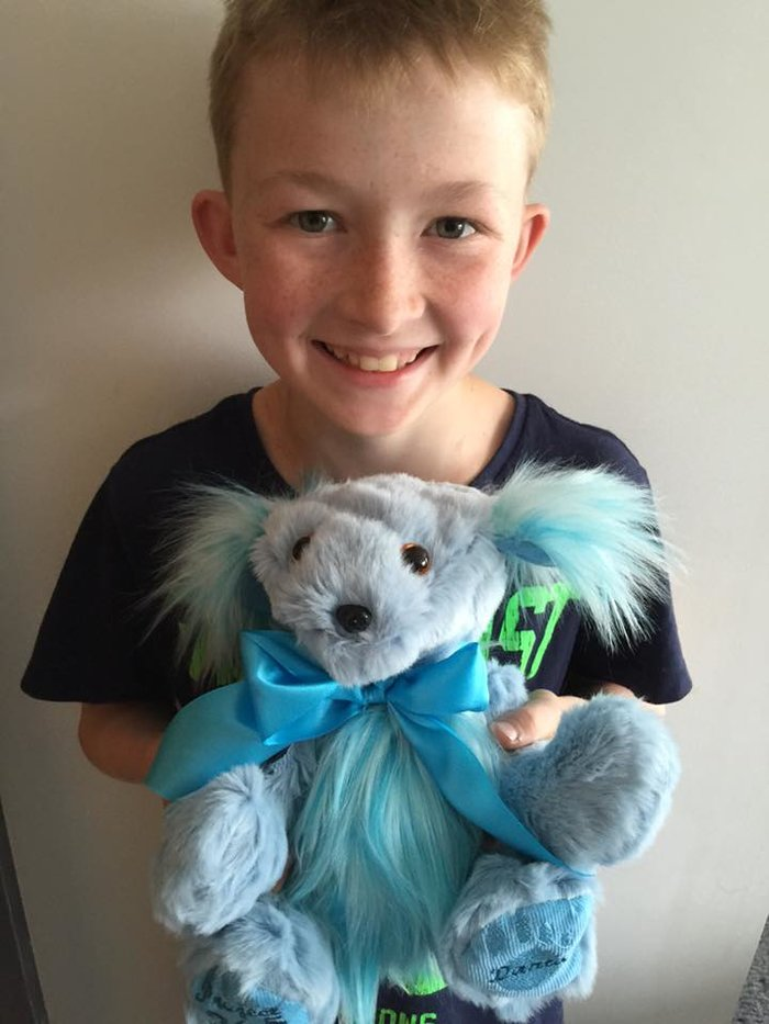 12χρονος έμαθε να ράβει για να δώσει χαρά σε άρρωστα παιδιά [Εικόνες] - εικόνα 3