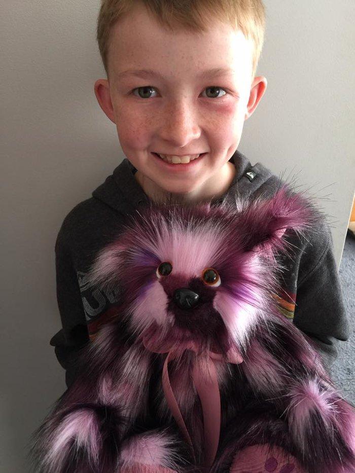 12χρονος έμαθε να ράβει για να δώσει χαρά σε άρρωστα παιδιά [Εικόνες] - εικόνα 4