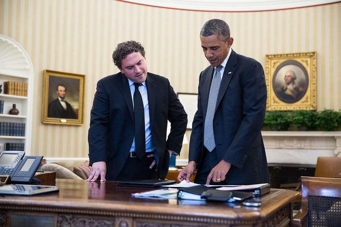 Cody Keenan και Μπαράκ Ομπάμα