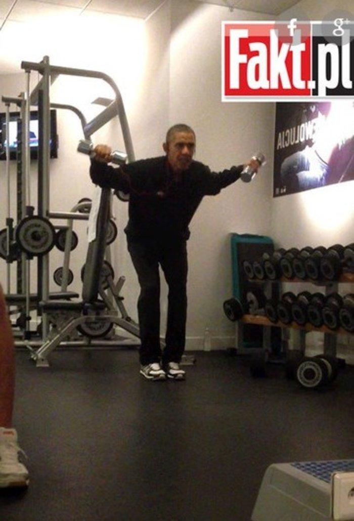 Πρωινή γυμναστική έκανε ο Ομπάμα στο Βερολίνο