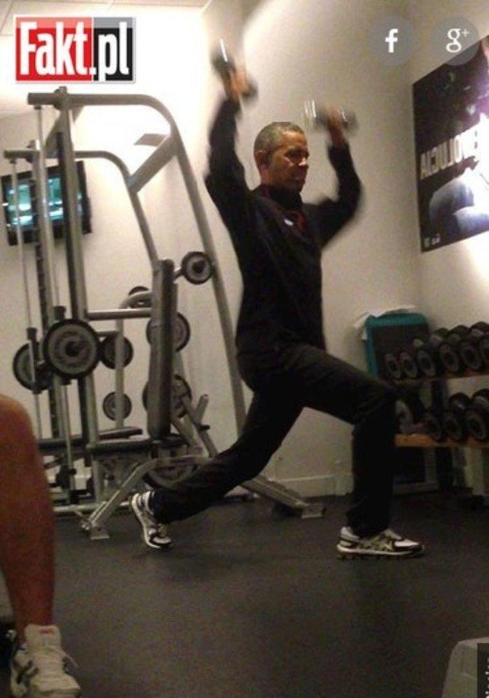 Πρωινή γυμναστική έκανε ο Ομπάμα στο Βερολίνο - εικόνα 2