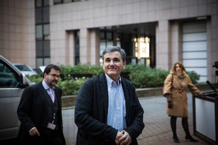 Ο έλληνας υπουργός Οικονομικών Ευ. Τσακαλώτος