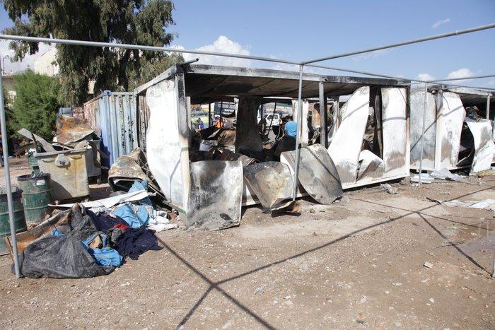 Σοβαρός τραυματισμός Σύρου πρόσφυγα στο κεφάλι με πέτρα στη Χίο
