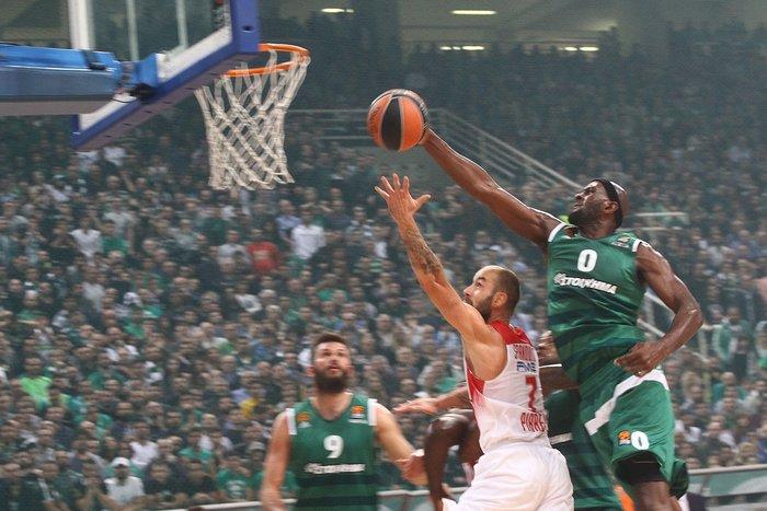 Ο Ολυμπιακός νίκησε τον Παναθηναϊκό στην τιτανομαχία του ΟΑΚΑ - εικόνα 4