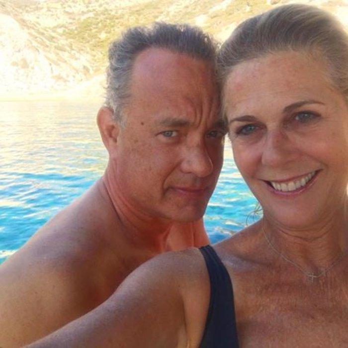 «Γάμος αλά Ελληνικά» του Τομ Χανκς και της Ρίτα Γουίλσον έγινε τραγούδι - εικόνα 2