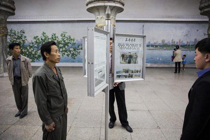 Κι όμως! Το πιο πολυτελές μετρό βρίσκεται στην Πιονγιάνγκ [Εικόνες] - εικόνα 3