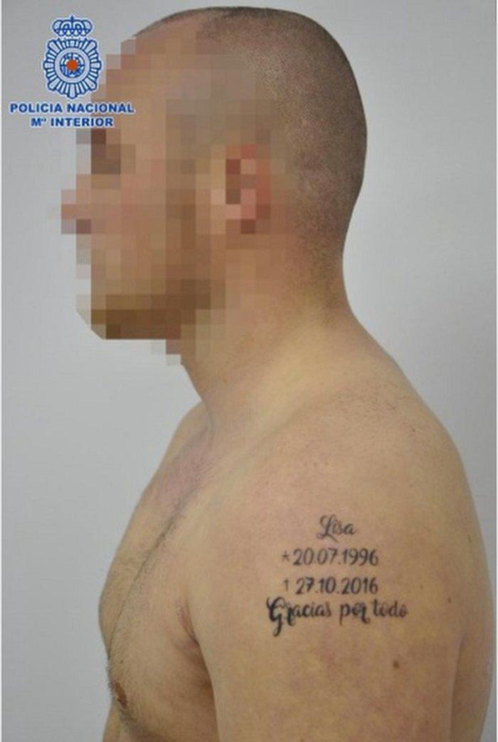Δολοφόνησε τη φίλη του και έκανε τατουάζ την ημερομηνία!