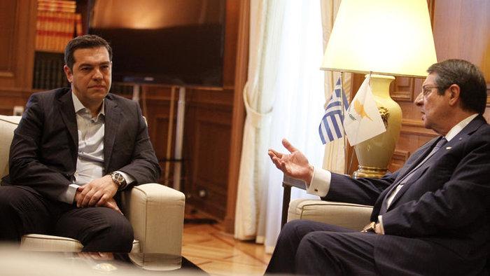 Αλέξης Τσίπρας και Νίκος Αναστασιάδης από παλαιότερη συνάντησή τους