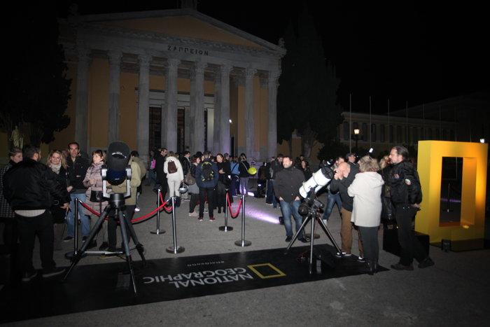 Οι Αθηναίοι στο τηλεσκόπιο για να δουν τον κόκκινο πλανήτη - εικόνα 9