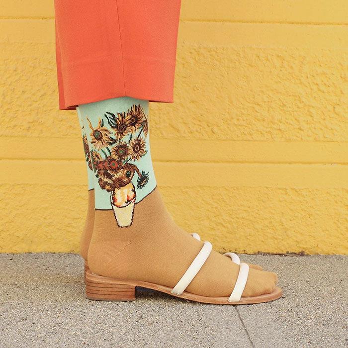 Κάλτσες φετίχ με ντα Βίντσι, Μποτιτσέλι και Πικάσο