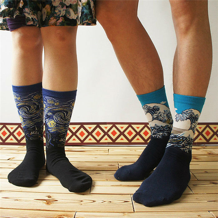Κάλτσες φετίχ με ντα Βίντσι, Μποτιτσέλι και Πικάσο - εικόνα 2