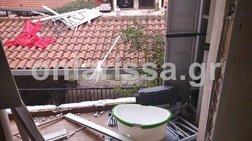 Εικόνες σοκ από έκρηξη φούρνου μικροκυμάτων στη Λάρισα