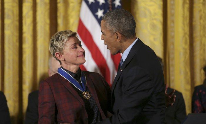 Τα δάκρυα της Ελεν ντε Τζενέρις, ο Χανκς & ο Ντε Νίρο:Η βράβευση από Ομπάμα - εικόνα 17