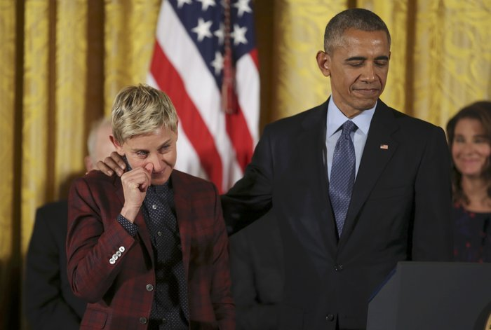 Τα δάκρυα της Ελεν ντε Τζενέρις, ο Χανκς & ο Ντε Νίρο:Η βράβευση από Ομπάμα - εικόνα 16