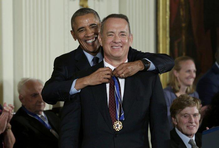 Τα δάκρυα της Ελεν ντε Τζενέρις, ο Χανκς & ο Ντε Νίρο:Η βράβευση από Ομπάμα - εικόνα 12