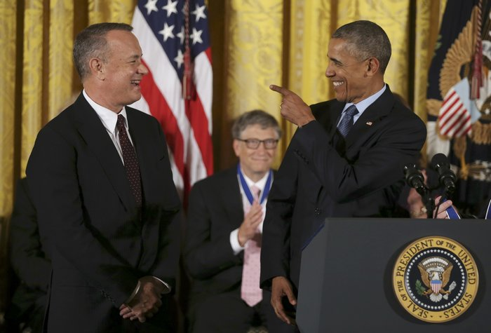 Τα δάκρυα της Ελεν ντε Τζενέρις, ο Χανκς & ο Ντε Νίρο:Η βράβευση από Ομπάμα - εικόνα 11