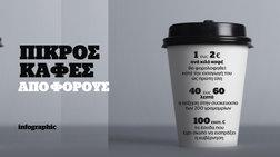 O καφές και η...φοροκρατία. Αυξήσεις φόρων σκέτη πίκρα