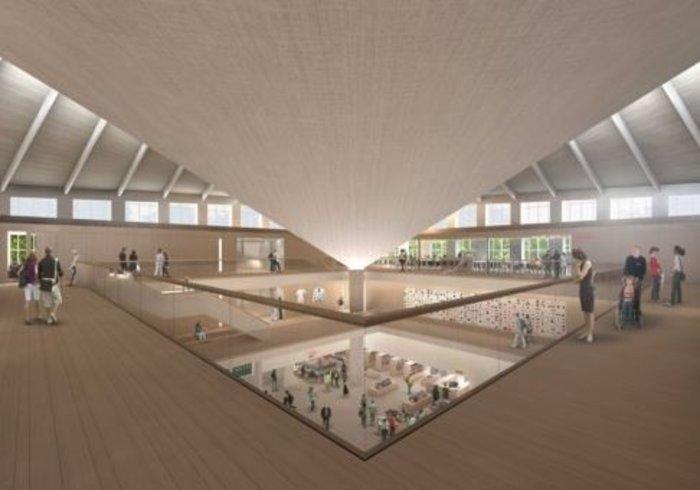 Ο δεύτερος όροφος. (Εικόνα: Alex Morris Visualisation).