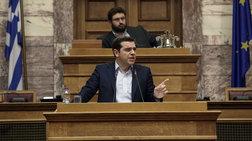 """Τσίπρας: """"Μασάζ"""" στους βουλευτές του με επίθεση στον Κυριάκο"""