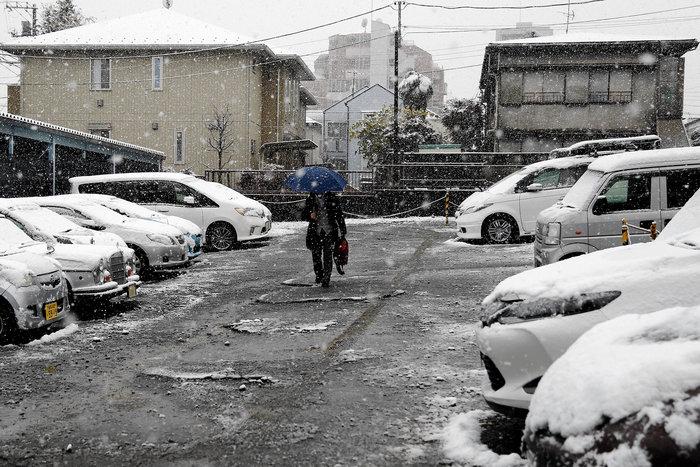Χιονίζει Νοέμβριο στο Τόκυο για πρώτη φορά μετά από 54 χρόνια! - εικόνα 5