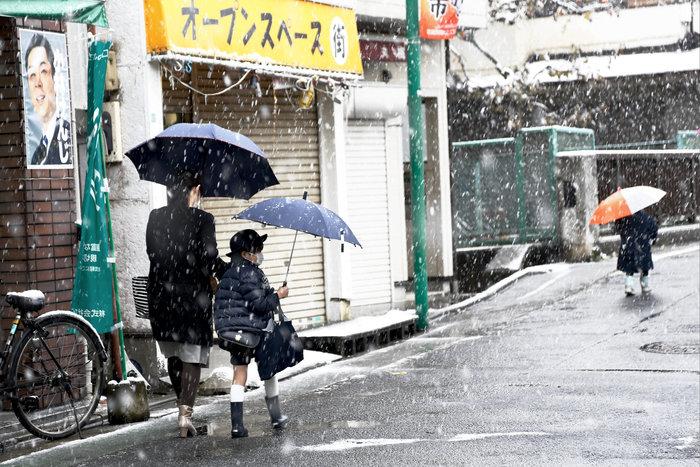 Χιονίζει Νοέμβριο στο Τόκυο για πρώτη φορά μετά από 54 χρόνια! - εικόνα 8