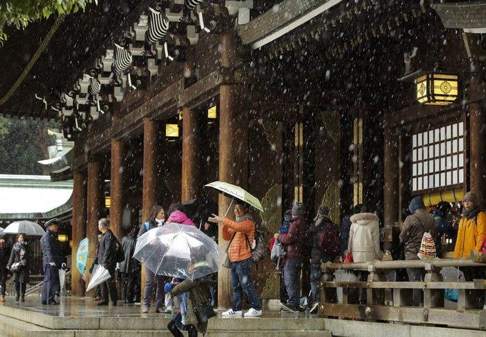 Χιονίζει Νοέμβριο στο Τόκυο για πρώτη φορά μετά από 54 χρόνια! - εικόνα 11