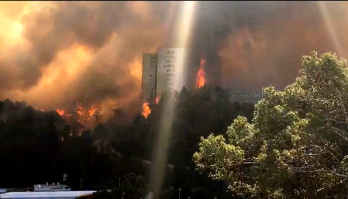 Κόλαση φωτιάς στη Χάιφα - 60.000 εγκατέλειψαν τα σπίτια τους