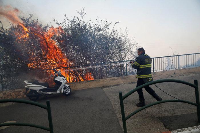 Ανελέητες οι φλόγες κατακαίνε ολόκληρες συνοικίες στη Χάιφα  - φωτό - - εικόνα 4