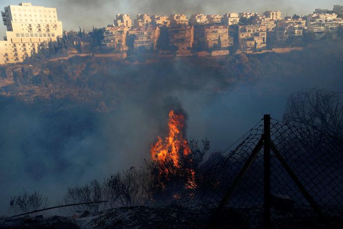Ανελέητες οι φλόγες κατακαίνε ολόκληρες συνοικίες στη Χάιφα  - φωτό - - εικόνα 10