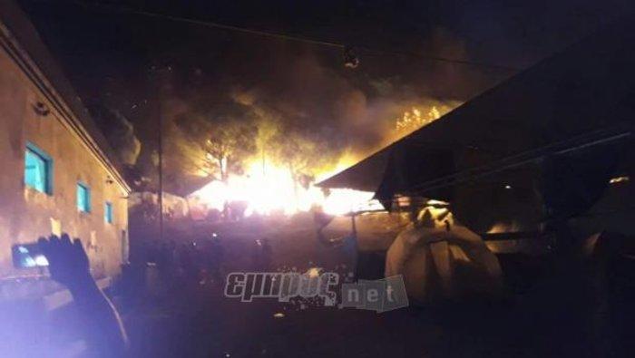 Δύο νεκροί και αρκετοί τραυματίες στο χοτ σποτ της Λέσβου (ΦΩΤΟ) - εικόνα 2