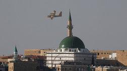 Ελληνικά αεροσκάφη πετούν πάνω από το Λευκό Τζαμί - φωτό -