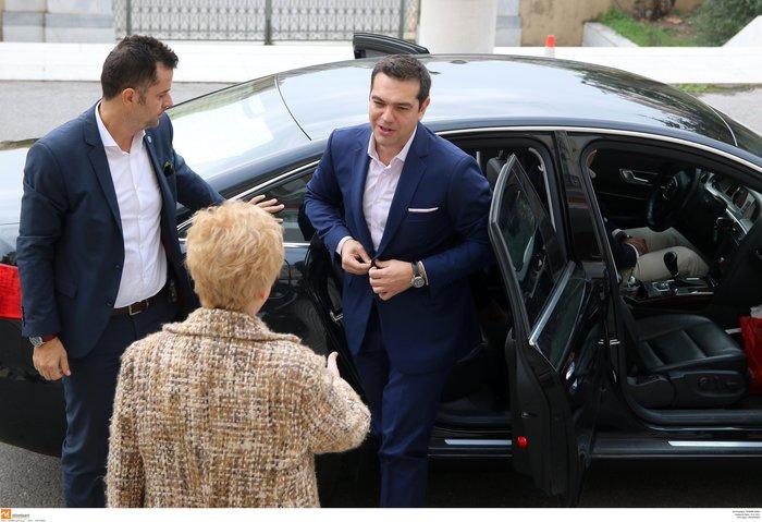 Τσίπρας στα εγκαίνια: Θα έρχομαι κάθε 15 μέρες στο γραφείο Θεσσαλονίκης