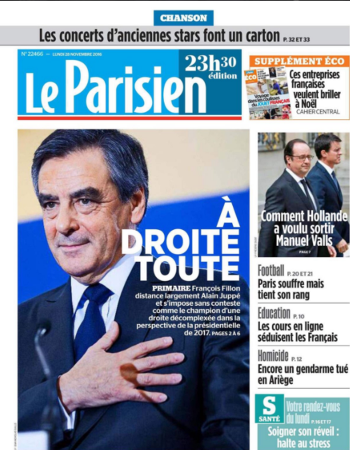 Γαλλικός Τύπος για Φιγιόν: Συντηρητική επανάσταση - εικόνα 2