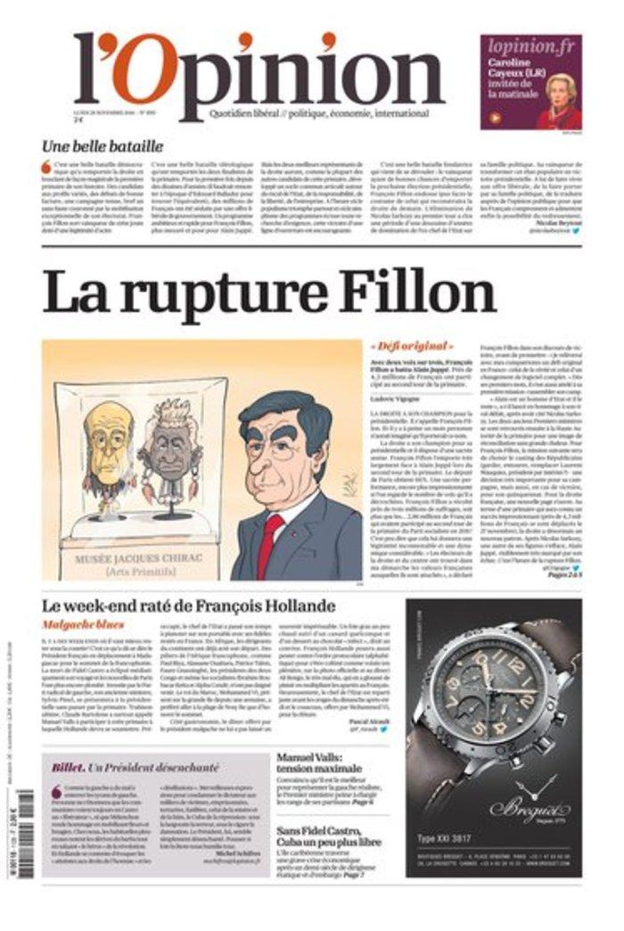 Γαλλικός Τύπος για Φιγιόν: Συντηρητική επανάσταση - εικόνα 3