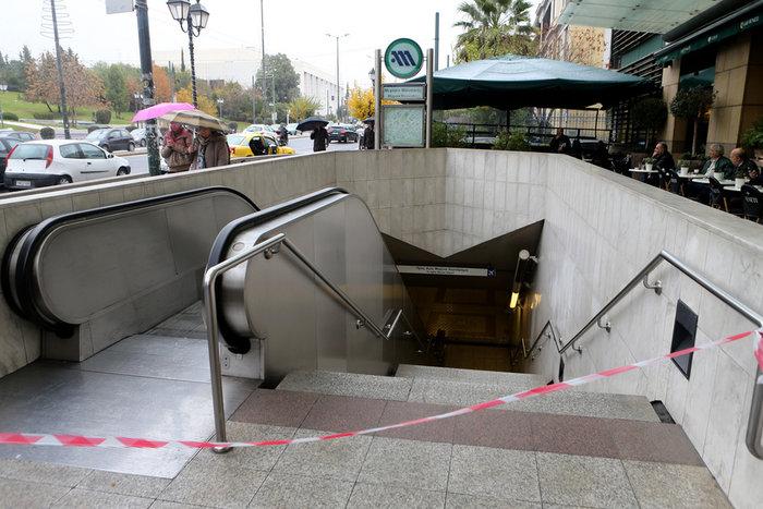 Απεργία ΗΣΑΠ, κλειστός σταθμός του μετρό & χάος στους δρόμους