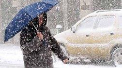 Καταιγίδες, τσουχτερό κρύο και χιόνια ακόμη και στην Αθήνα