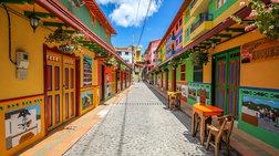 Η χρωματιστή πόλη της Κολομβίας με την καλύτερη θέα στον κόσμο